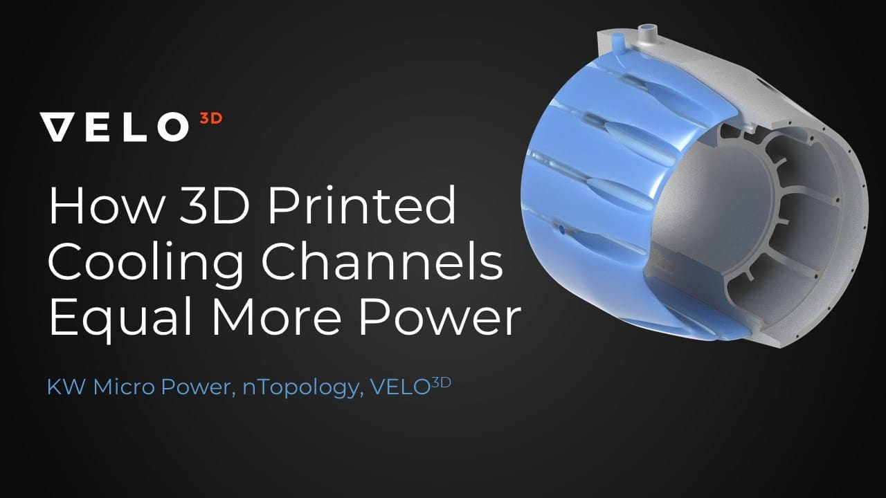 How 3D Printed Cooling Channel Equal More Power