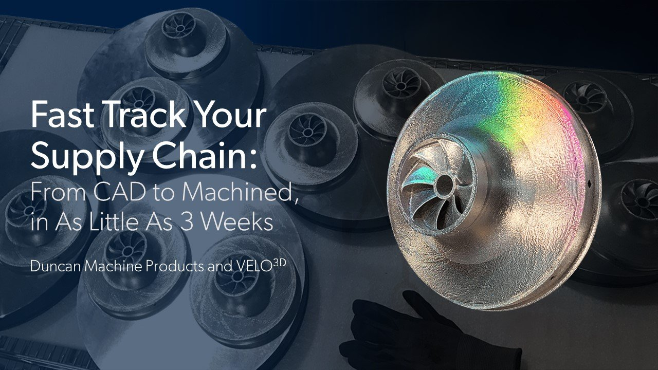 Fast Track Your Supply Chain: From CAD to Machined, in As Little As 3 Weeks