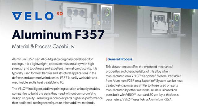 Aluminum F357