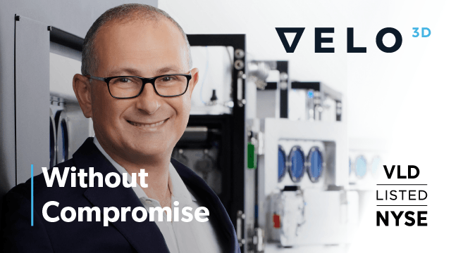 Velo3D Announces Transition to Publicly Traded Company