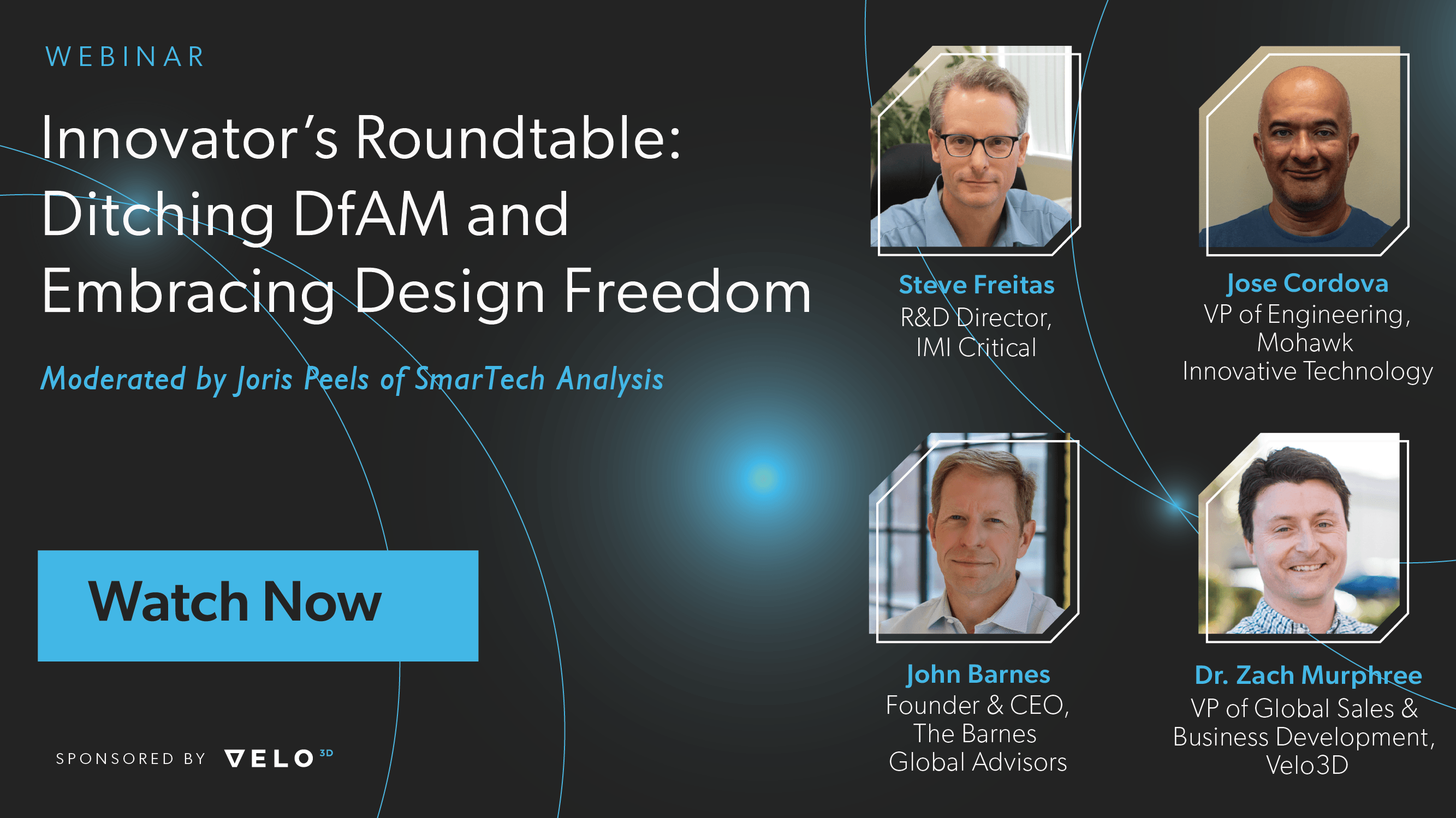 Innovator's Roundtable: Ditching DfAM and Embracing Design Freedom